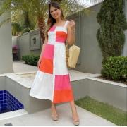 Conjunto Maria color piet mondrian Colorido
