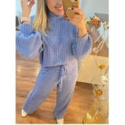 Conjunto pantalona Azul -