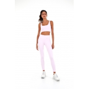 Legging blackout recortes soft Rosa -