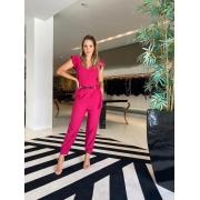 Macacão cupro Pink -