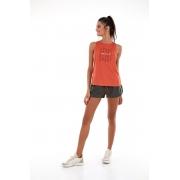 Regata skin fit sport way com degarde Laranja ginger -