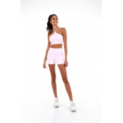 Shorts blackout soft Rosa -