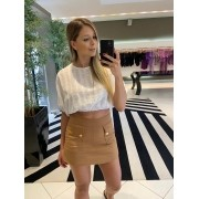 Shorts Nicole Caramelo -