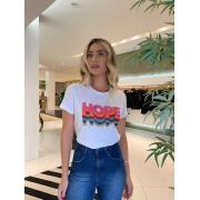 T-shirt Hope Branco -