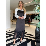 Vestido Agatha Preto -