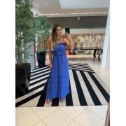 Vestido Analu Azul Royal -