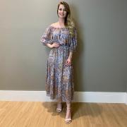 Vestido Anne Azul -