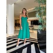 Vestido botões portinari Verde -