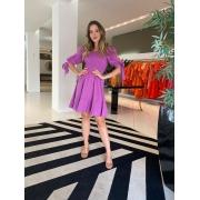 Vestido Eduarda Lavanda -