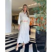 Vestido Elizabeth Bege -