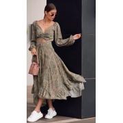Vestido Emirados Verde -