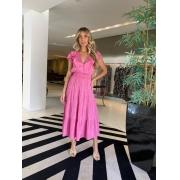Vestido Fabiola Rosa -