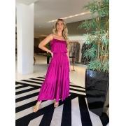Vestido Fernanda Fucsia -
