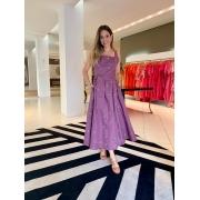Vestido Liana Roxo -