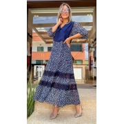 Vestido Luciana Azul -
