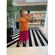 Vestido Luz Laranja -