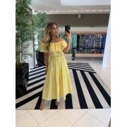 Vestido margo Amarelo -