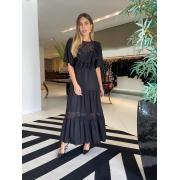 Vestido Maria alice Preto -