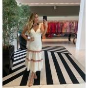 Vestido Maria tereza Off White -