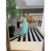 Vestido Mariana Verde água -