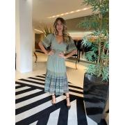 Vestido marieta b Verde -
