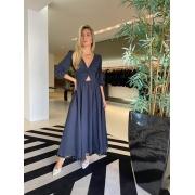 Vestido Mia Azul escuro -