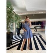 Vestido paola Azul -