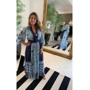 Vestido Rebeca Azul -