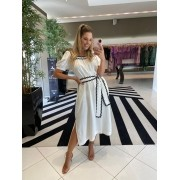 Vestido Romana Off White -