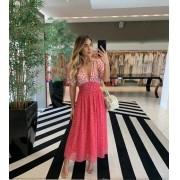 Vestido Rosaline Rosa -