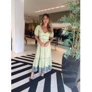 Vestido rubia Verde oliva -