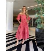 Vestido Samantha Vermelho -