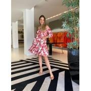 Vestido Sara Off/Vermelho -
