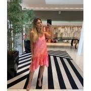 Vestido Sophia B Laranja -