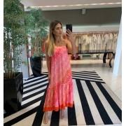 Vestido Sophia C Laranja -