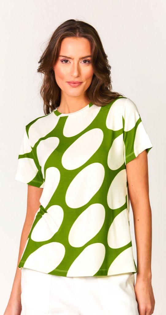 Blusa bolas aruba Verde -