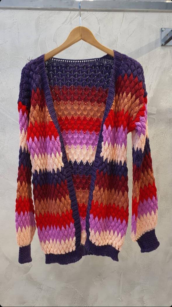 Cardigan tricot Colorido -