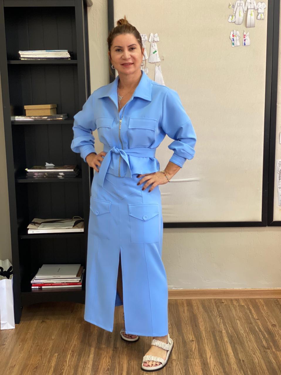 Casaqueto Sara Azul -