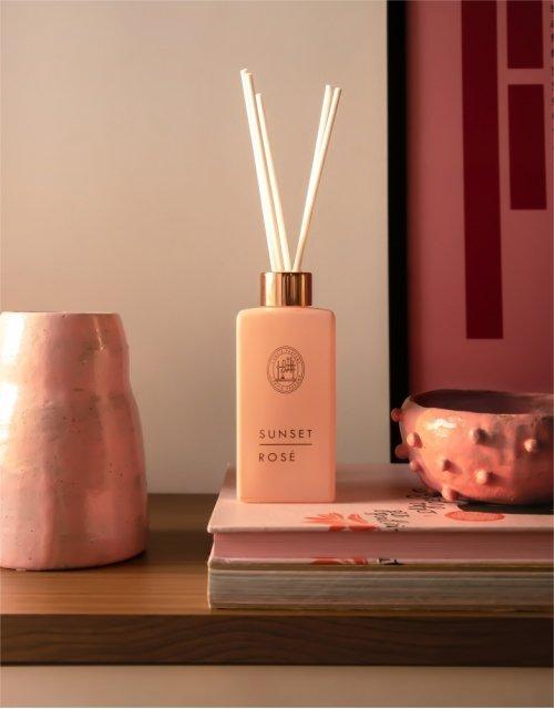 Difusor de perfume Sunset rose -