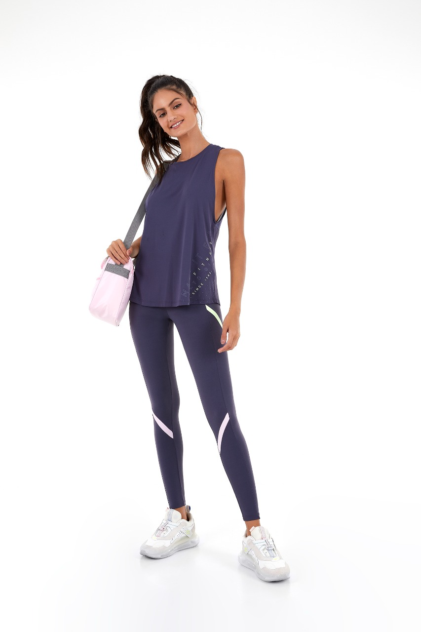 Regata skin fit tela costa since 1938 Cinza Odyssey -