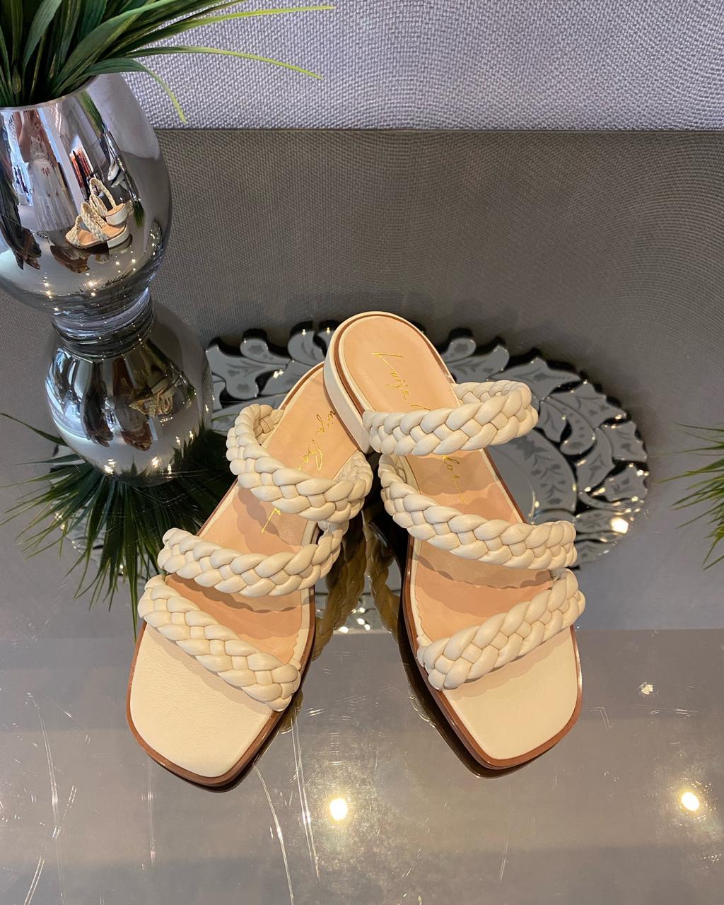 Sandália grease Manteiga -