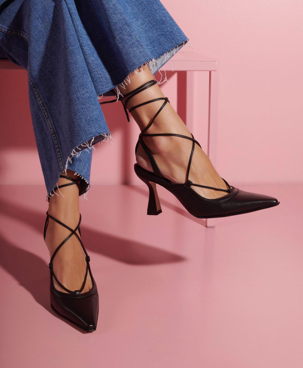 Sapato grease Preto -
