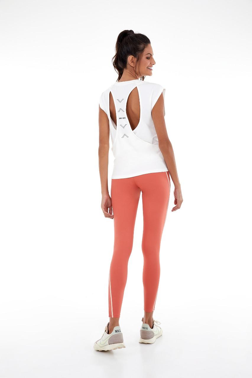 T-shirt radiosa dots Off white -