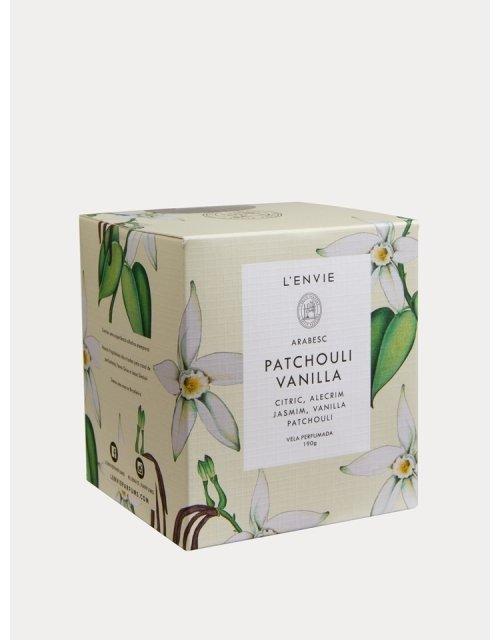 Vela perfumada Patchouli Vanilla -