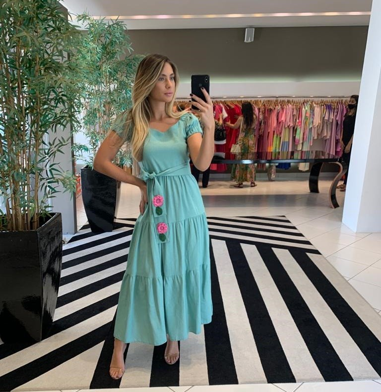 Vestdio Tamara Verde -