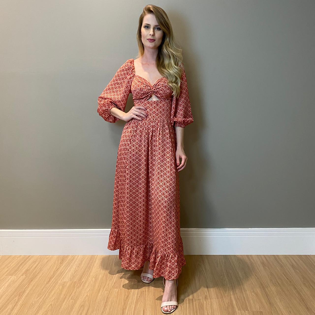 Vestido Agatha Vermelho -