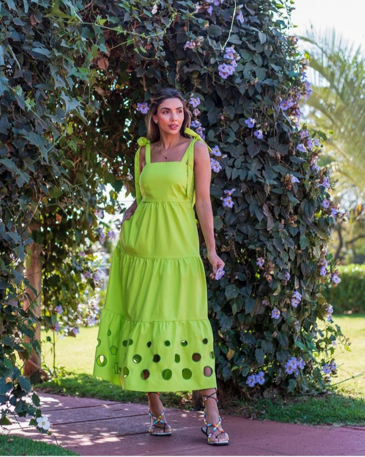 Vestido Aurora Verde -