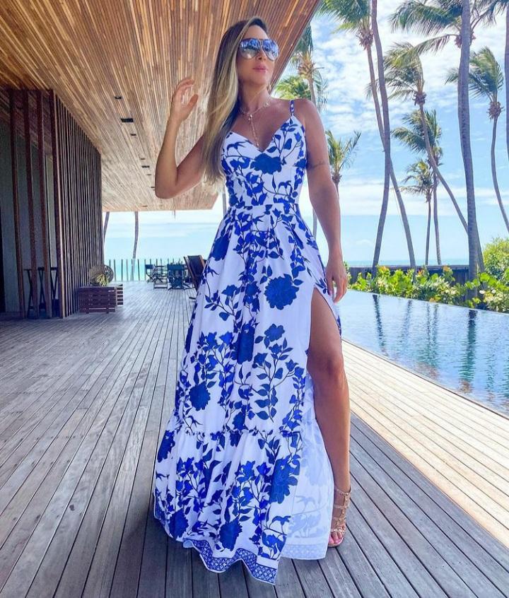 Vestido Creta Azul -