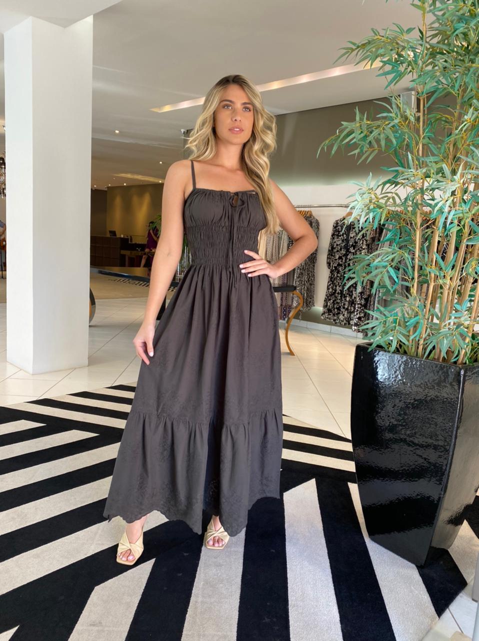 Vestido Cristina Verde escuro -