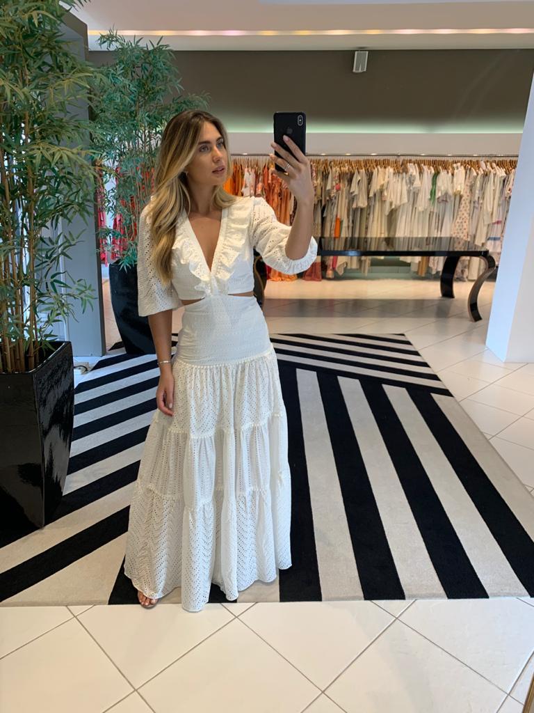Vestido Emanueli Off White -